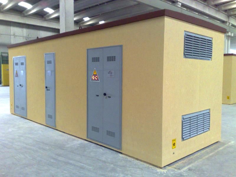 cabine prefabbricate elettriche con omologazione enel | cabina